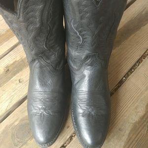 "Laredo ""Abby"" Womens Black Deertan 51071 Size 8.5"